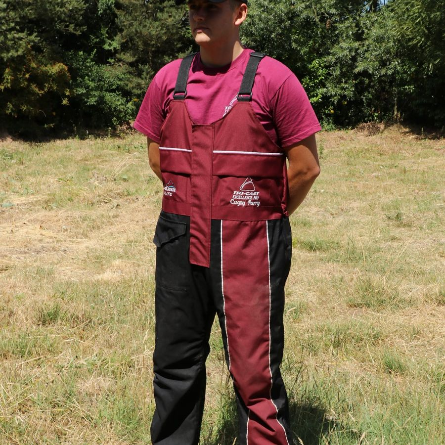 Excellence Pro Elite Quilted Bib n Brace