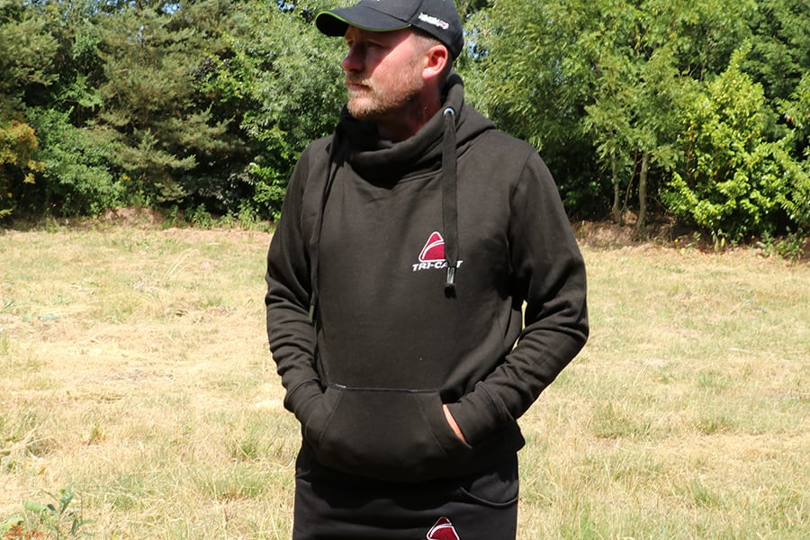 Tri-Cast Cross Neck Hoodie